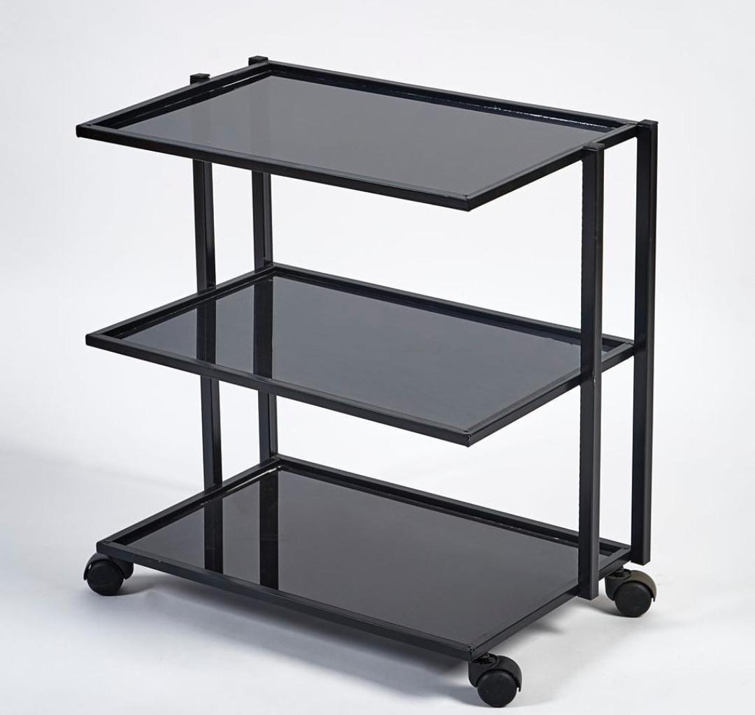 Стол инструментальный (3 полки) прямоугольный