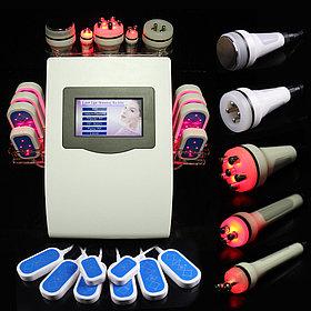 Аппарат косметологический 4 в1 кавитация микротоки вакуум РФ лифтинг