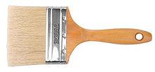 Кисть плоская 75мм, деревянная ручка TOTAL арт.THT84032