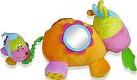 BIBA TOYS Развивающая игрушка КОРОВКА 35*35*36 см