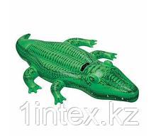 INTEX Надувная игрушка Крокодил 58546