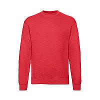 Свитшот с начесом CLASSIC SET-IN SWEAT 260, Красный, S, 622020.40 S