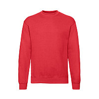 Свитшот с начесом CLASSIC SET-IN SWEAT 260, Красный, M, 622020.40 M