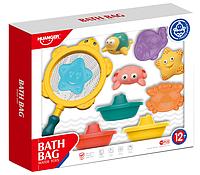 HAUNGER Набор игрушек для ванной МОРСКИЕ ОБИТАТЕЛИ И КОРАБЛИКИ 10 шт.