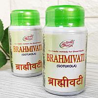 Брахми вати Шри Ганга (Brahmivati Gotukola Shri Ganga) комплекс для мозга, памяти, нервной системы, 100 таб