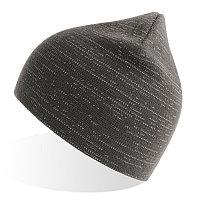 Шапка вязаная SHINE светоотражающая из материала rPET/рециклированного полиэстера, Серый, -, 254230.30