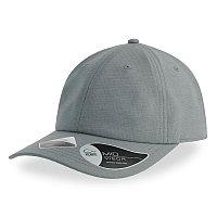 Бейсболка ENERGY 110, 6 клиньев, застежка на липучке, Серый, -, 254231.29