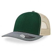 Бейсболка SONIC 280, 6 клиньев, пластиковая застежка, Зеленый, -, 254232.171
