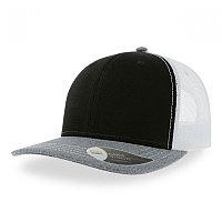 Бейсболка SONIC 280, 6 клиньев, пластиковая застежка, Черный, -, 254232.351