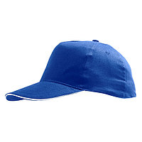 Бейсболка SUNNY 180, 5 клиньев, застежка на липучке, Синий, -, 788110.913