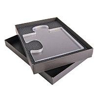 Награда CONNECT в подарочной коробке, матовые грани, 195х150х20 см,  акрил, прозрачный, , 34708у