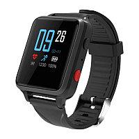 Умные часы GEOZON WATCHER для старшего поколения, с GSM связью и GPS позиционированием, черный, , 36817