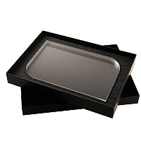 Награда HAPPY DAY в подарочной коробке, матовые грани, 200х131х20 мм, акрил, прозрачный, , 34702у