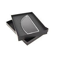 Награда TUSK в подарочной коробке, матовые грани, 85х210х20 мм, акрил, прозрачный, , 34704у