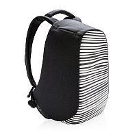 Антикражный рюкзак Bobby Compact, черный; белый, Длина 28 см., ширина 14 см., высота 39 см., P705.651