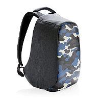 Антикражный рюкзак Bobby Compact, синий; голубой, Длина 28 см., ширина 14 см., высота 39 см., P705.655