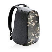 Антикражный рюкзак Bobby Compact, зеленый; серый, Длина 28 см., ширина 14 см., высота 39 см., P705.657