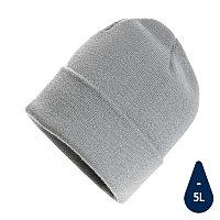 Шапка Impact из Polylana® AWARE™, серый, , высота 21 см., диаметр 23,5 см., P453.342