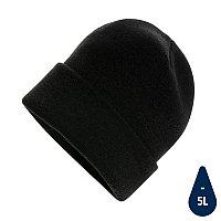 Шапка Impact из Polylana® AWARE , черный, , высота 21 см., диаметр 23,5 см., P453.341