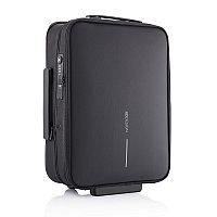 Складной чемодан на колесах Flex, черный, Длина 39 см., ширина 15,5 см., высота 51 см., P705.811