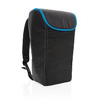 Рюкзак-холодильник Explorer, черный; синий, Длина 25 см., ширина 17 см., высота 42 см., P733.091