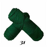 """Пряжа """"Нежный акрил"""" зеленый"""