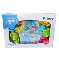 PITUSO Набор игрушек для ванной МОРСКИЕ ЖИВОТНЫЕ, фото 1