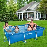 Каркасный бассейн Intex 220 х 150 х 60см, фото 3