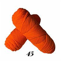 """Пряжа """"Нежный акрил"""" оранжевый"""