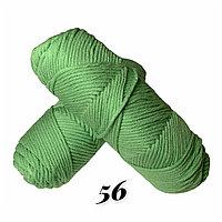 """Пряжа """"Нежный акрил"""" бледно-зеленый"""