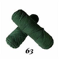 """Пряжа """"Нежный акрил"""" грязно-зеленый"""