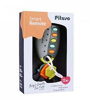 PITUSO Развивающая игрушка УМНЫЙ ПУЛЬТ (серый) (свет,звук) 19*6,5*4 см, фото 1