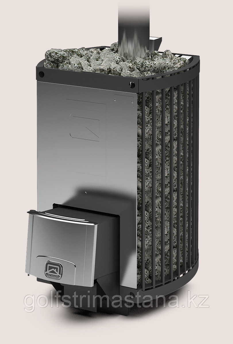 Печь-каменка (до 20 м3) дровяная ДОМНА-СЕТКА-20 ЛК