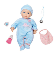 Кукла мальчик Беби Анабель интерактивная