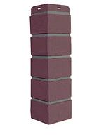 Угол наружный Жжёный 417х120 мм Состаренный кирпич ЭЛИТ Grand Line