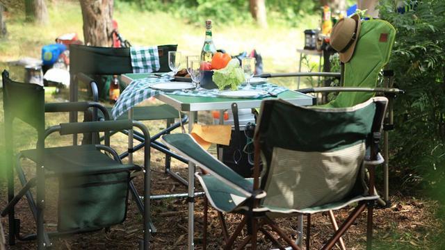 Столы и стулья для туризма