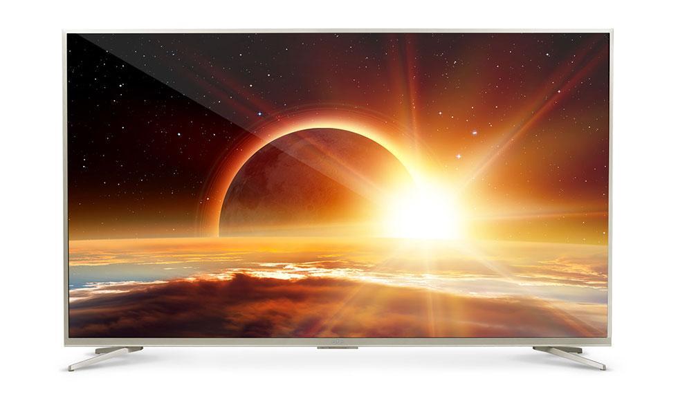 Телевизор Artel TV LED 55AU90GS золотистый - фото 1