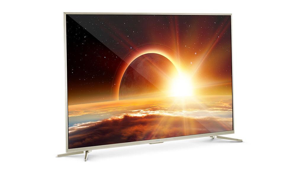 Телевизор Artel TV LED 55AU90GS золотистый - фото 2