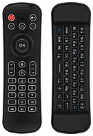 Беспроводная аеромышь клавиатура пульт HARPER KBWL-050 для СМАРТ ТВ, черный