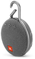 Портативная колонка JBL CLIP 3 Grey (JBLCLIP3GRY), серый