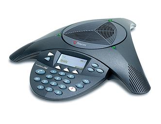 Аудиоконференция Polycom SoundStation2 аналоговый конференц телефон расширяемый с дисплеем