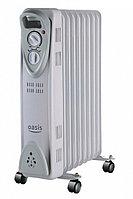 Масляный радиатор Oasis US-10, серый
