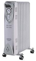 Масляный радиатор Oasis US-15, серый