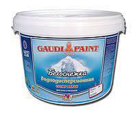 Краска водоэмульсионная GAUDI PAINT Белоснежка, 25 кг