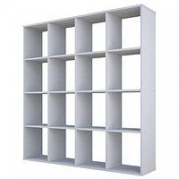 Стеллаж Polini Home Smart Кубический 16 секций белый