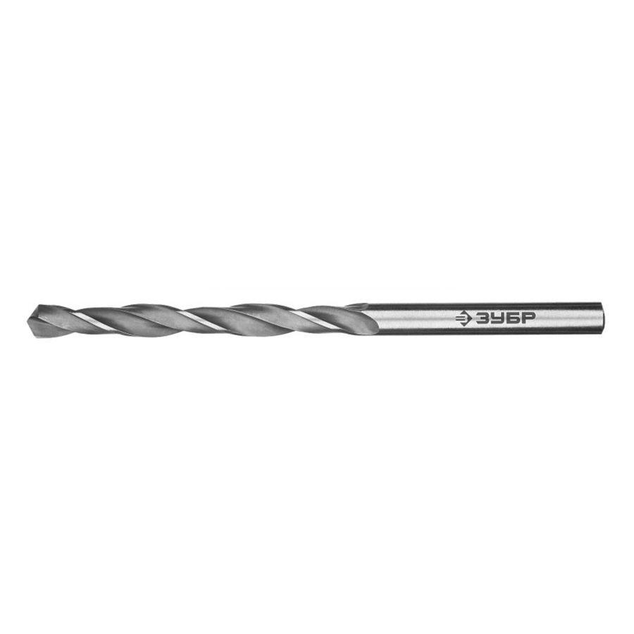 (29621-5) ЗУБР ПРОФ-В 5.0х86мм, Сверло по металлу, сталь Р6М5, класс В