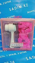 MeiUSTAR Набор подарочный Повязка на голову и щетка для умывания