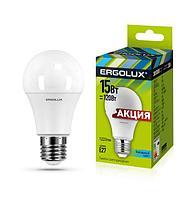 Светодиодная лампа Ergolux LED-A60-15W-E27-4K