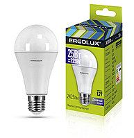 Светодиодная лампа Ergolux LED-A65-25W-E27-6K