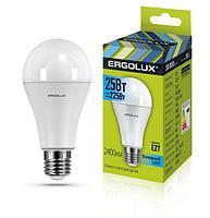 Светодиодная лампа Ergolux LED-A65-25W-E27-4K
